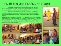 Den dětí s Mikulášem 6.12. 2013