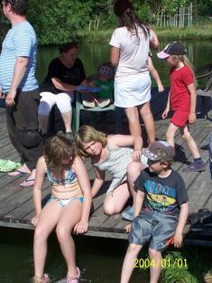 Dětské rybářské závody Vydrýsek
